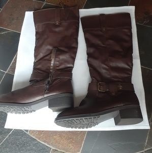 Rampage heeled boots